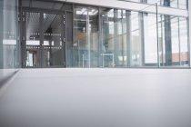 Empty passageway of hospital — Stock Photo