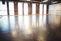 Interior view of empty ballet studio — Stock Photo