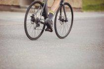 Низкая часть велосипеда для спортсменов — стоковое фото