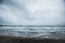 View of waves on seashore during the day — Stock Photo