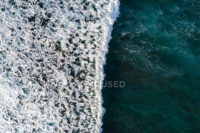Aerial view of beautiful seascape — Stock Photo