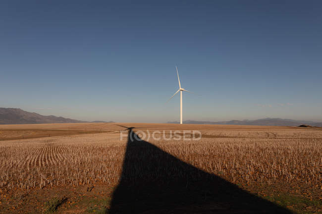 Wind mill at a wind farm during daytime — Stock Photo