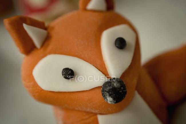Close-up de doces em forma de Marzipã — Fotografia de Stock