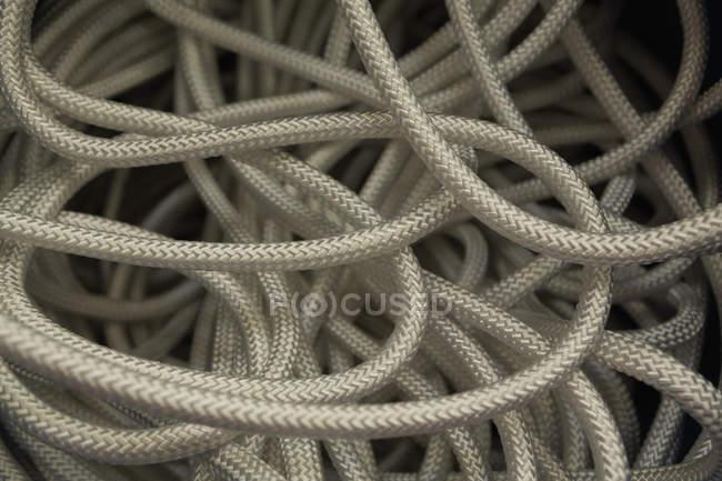 Закри мотузку в мотузку, роблячи промисловості — стокове фото