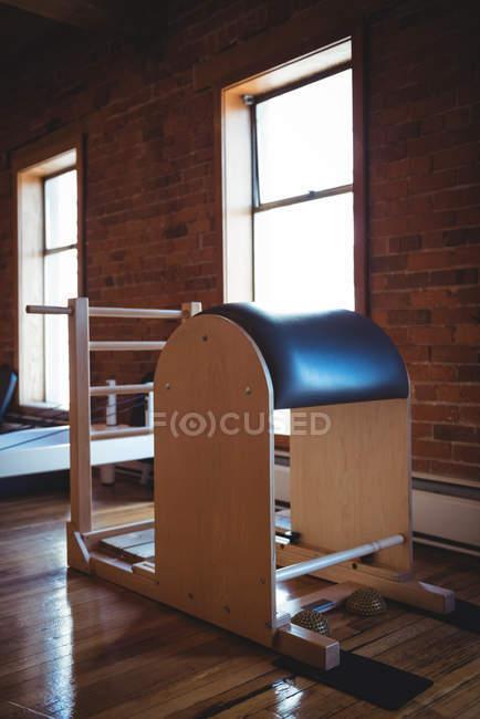 Sport reformer in empty fitness studio interior — Stock Photo