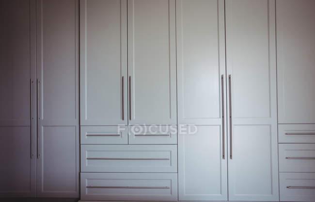 Wardrobe in bedroom at home — Stock Photo