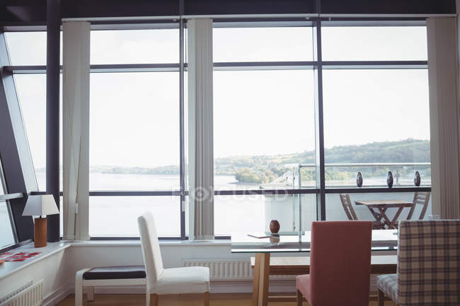 Interieur des modernen Wohnzimmers — Stockfoto