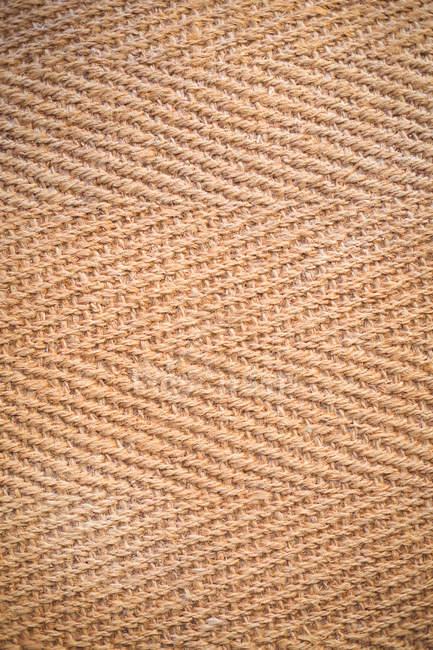 Close-up de tecido marrom espinha de peixe — Fotografia de Stock