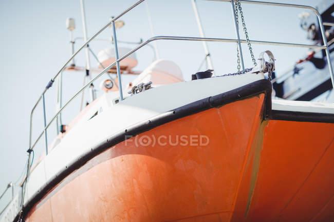 Primo piano della barca nella giornata di sole — Foto stock