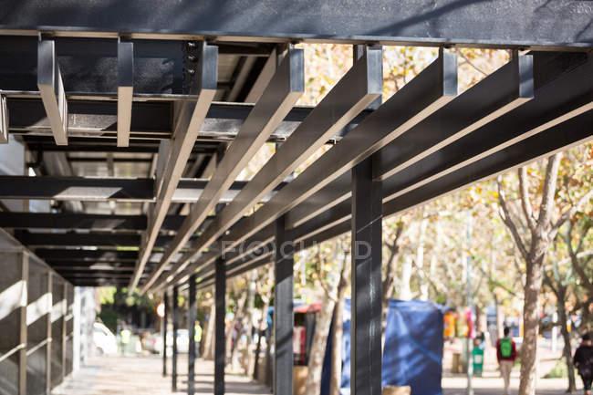 Сучасна будівля структури Закри — стокове фото