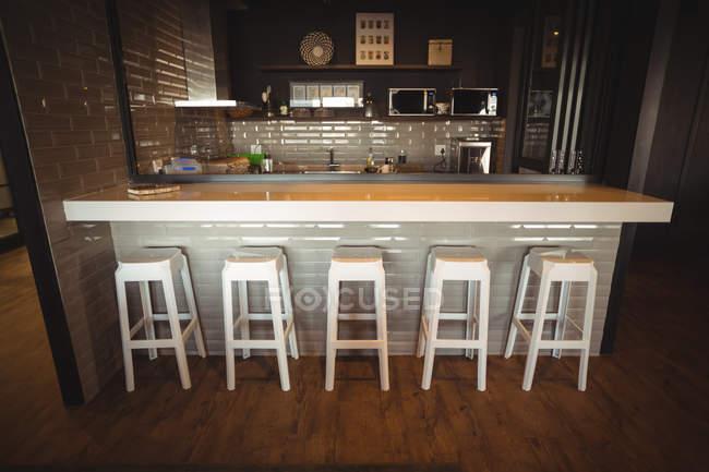 Bancone bar moderno in ufficio — Foto stock