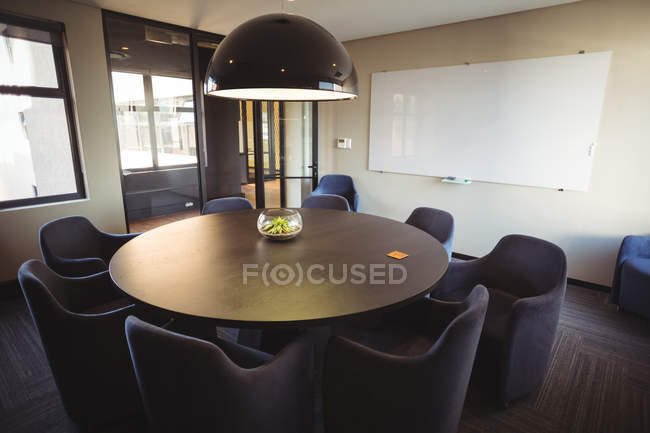 View of modern meeting room in office — Stock Photo