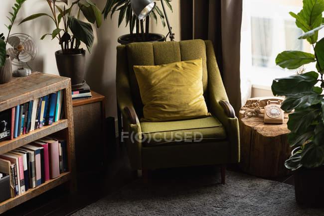 Интерьер гостиной на дому — стоковое фото