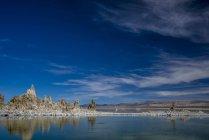 Туфформирования в Озеро Моно, Калифорния, Сша — стоковое фото