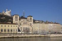 Собор Сен-Жан і базиліка Фурвір, Ліон, Франція — стокове фото