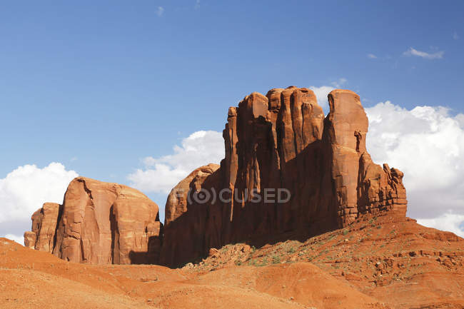 Camel Butte sandstone rock formation, Utah, USA — Stock Photo