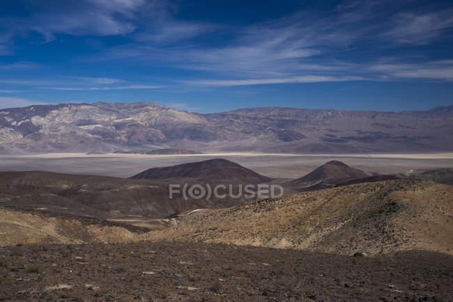 Paysage stérile de la vallée de la mort, Nevada, Californie, USA — Photo de stock