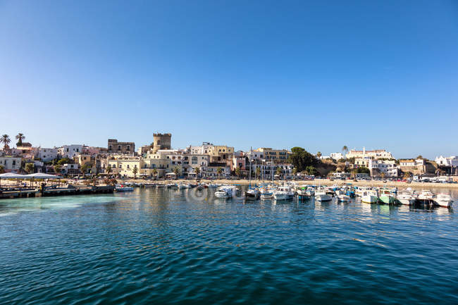 Porto di Forio, Ischia, Golfo di Napoli, Regione Campania, Italia — Foto stock