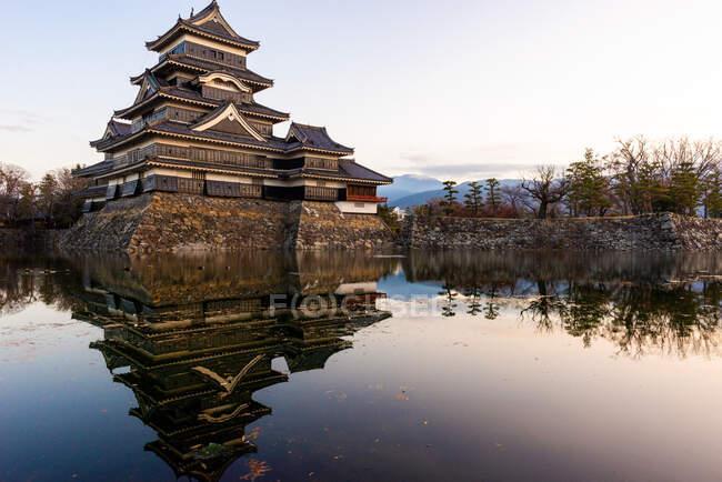 Matsumoto castle, Nagano prefecture, Honshu, Japan — Stock Photo