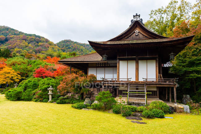 Denjiro Okochi residence, Kyoto, Kansai, Honshu, Japan — Stock Photo