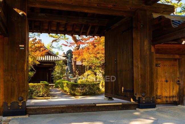 Temple bouddhiste zen Myoshinji, Kyoto, Kansai, Honshu, Japon . — Photo de stock