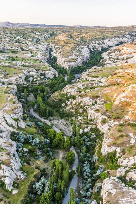Турция, Национальный парк Греме и скалы Каппечии, ландшафт (Всемирное наследие ЮНЕСКО)) — стоковое фото