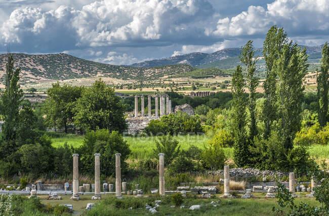 Turquie, site archéologique romain d'Aphrodisias — Photo de stock