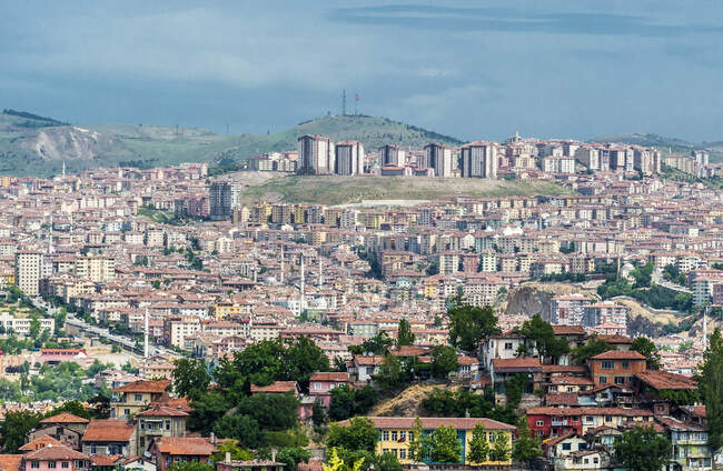 Turkey, Ankara, recent buildings on the outskirts of the city — Stock Photo