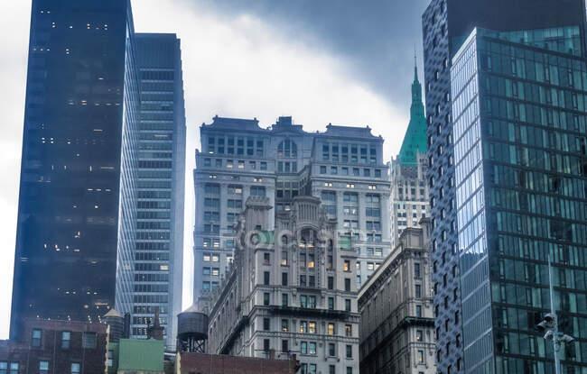 Usa, Nueva York, Baja Manhattan - foto de stock