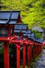 Traditional japanese architecture at Kyoto shrine, Kyoto, Japan — Stock Photo