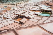 Fiume Mekong e salamoia bene nella contea di Tibet mangkang — Foto stock