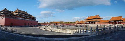 Traditional Chinese Architecture at Forbidden City, Beijing, China — Stock Photo