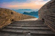Bela cena com Jinshanling, Great Wall, Hebei, China — Fotografia de Stock