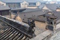 Двор Ван, Линши, Шаньси, Китай — стоковое фото