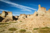 Дивовижні Тулв Landform декорацій міста Датун, провінція Шаньсі, Китай — стокове фото
