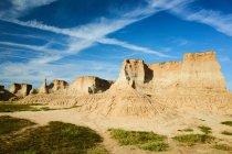 Красиві Тулв Landform декорацій міста Датун, провінція Шаньсі, Китай — стокове фото