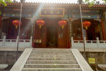 Ancient architecture of Yunju temple in Beijing — Stock Photo