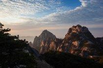 Sunrise of Mount Huangshan, Anhui Province, China — Stock Photo