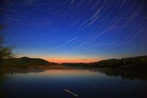 Vue de nuit de Hulun Buir Grassland, Mongolie intérieure — Photo de stock