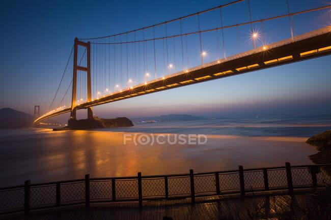 Ponte do Cruz-mar Zhejiang Hou na província de Shanxi, China — Fotografia de Stock