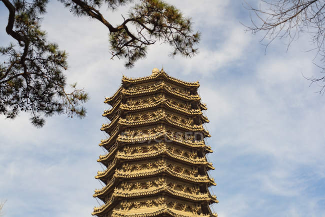 Beijing university dedryck boyata, low angle view — Stock Photo