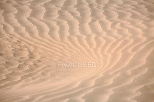 У Синьцзян, повний кадр з видом на пісок — стокове фото