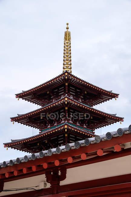Osaka, Japão templo de quatro reis celestiais — Fotografia de Stock