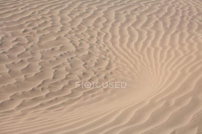 Beau désert de taklamakan dans le xinjiang, vue plein cadre sur le sable — Photo de stock