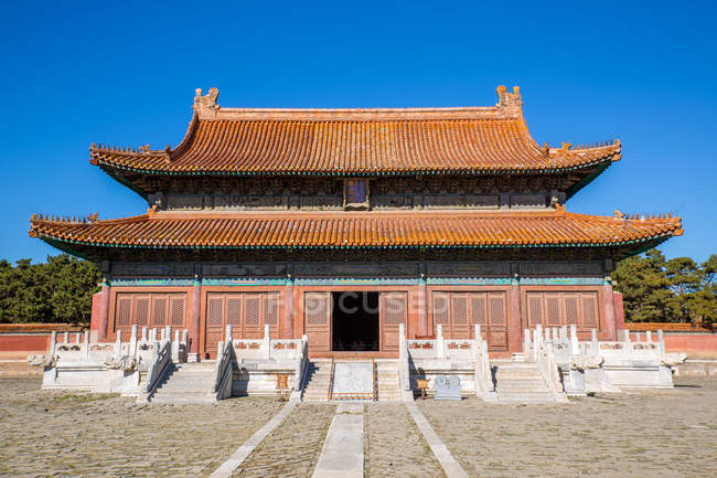 Ancient architecture at Eastern Qing tombs, Zunhua, Hebei, China — Stock Photo