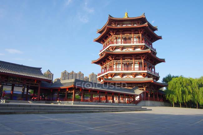 Datang Furong сад Сіань, провінція Шеньсі, Китай — стокове фото