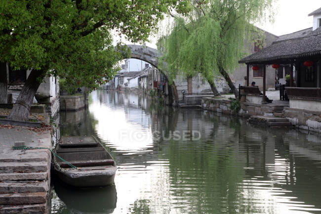 Traditionelle chinesische Architektur in kunshan, jiangsu, china — Stockfoto