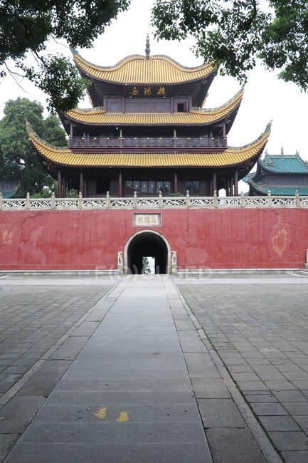 Ancient Yueyang Tower, Yueyang, Hunan, China — Stock Photo