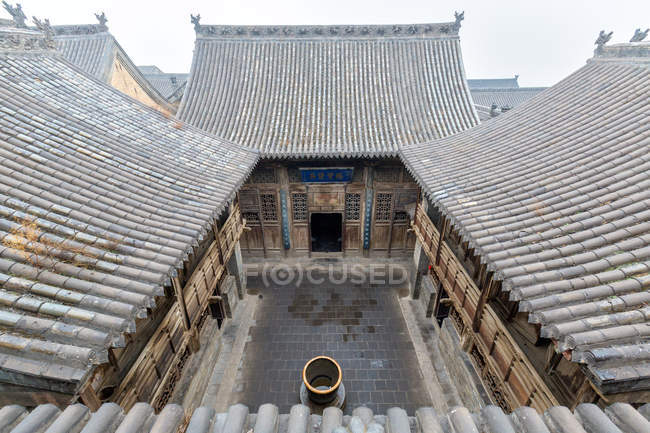 Der wangs-hof, lingshi, shanxi, china — Stockfoto