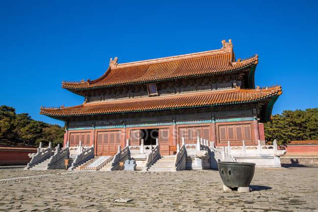 Стародавня архітектура в східному Цин гробниць, Zunhua, Хебей, Китай — стокове фото